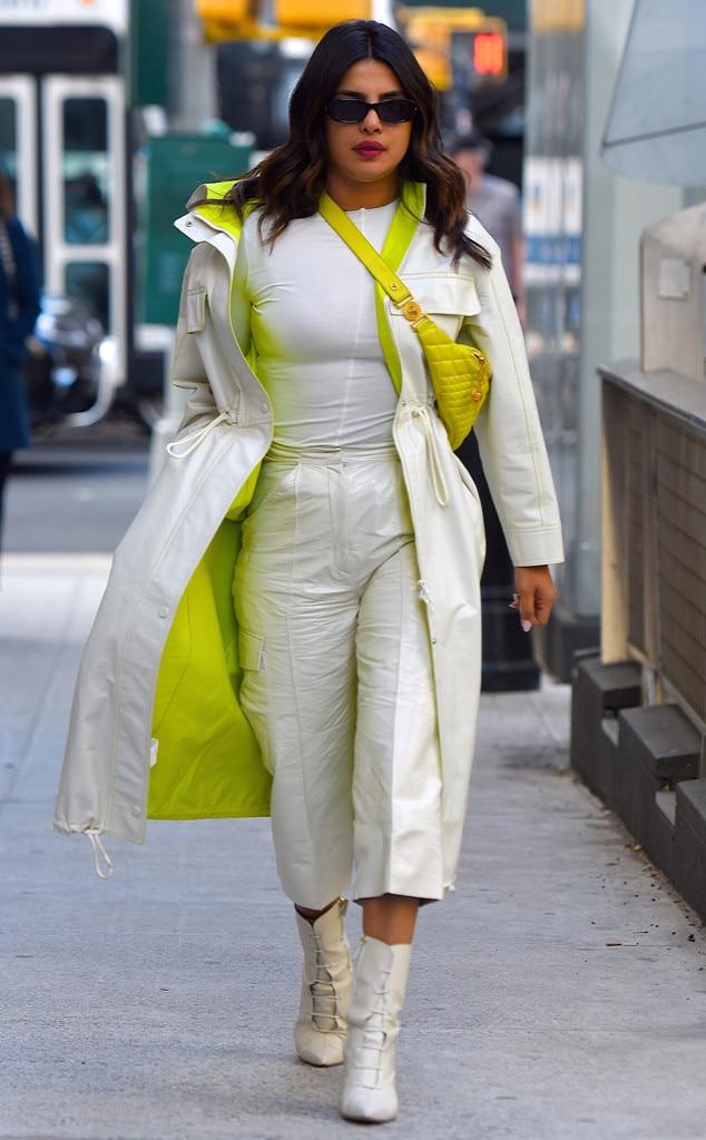 Priyanka Chopra -  Street styling!