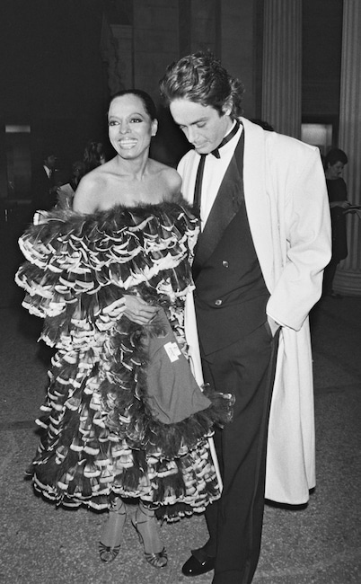 Diana Ross, Patrice Calmette, Met Gala 1981