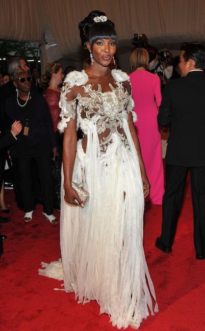 Naomi Campbell, 2011 Met Gala