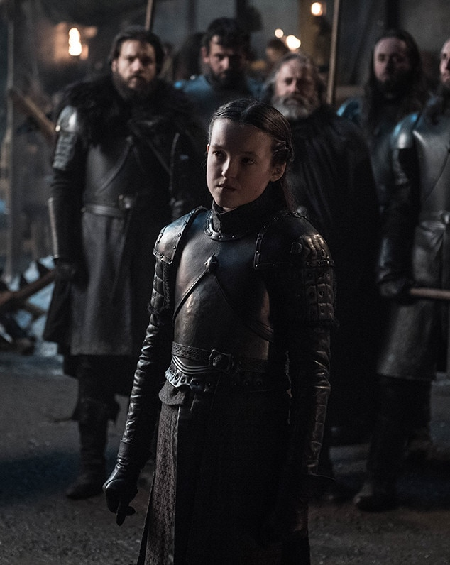 Lyanna, Episode 2 -  Bella Ramsey suits up for battle as Lyanna Mormont in the second episode of the season.