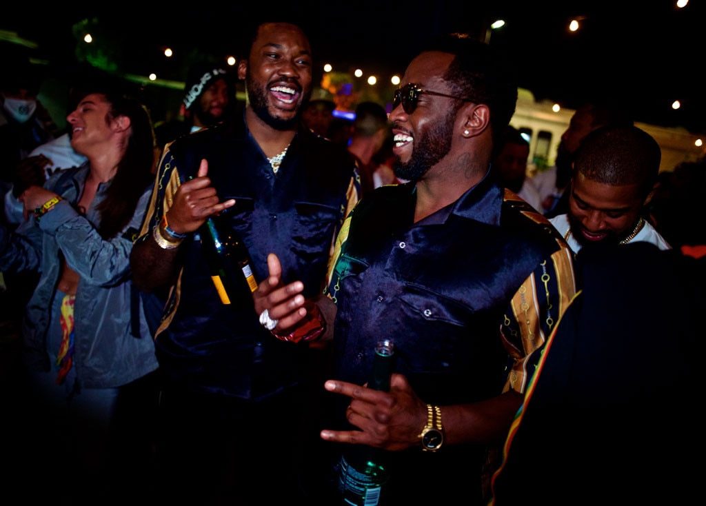 "Meek Mill & Sean ""Diddy"" Combs -  The pals are photographed sharing a laugh together at Coachella."