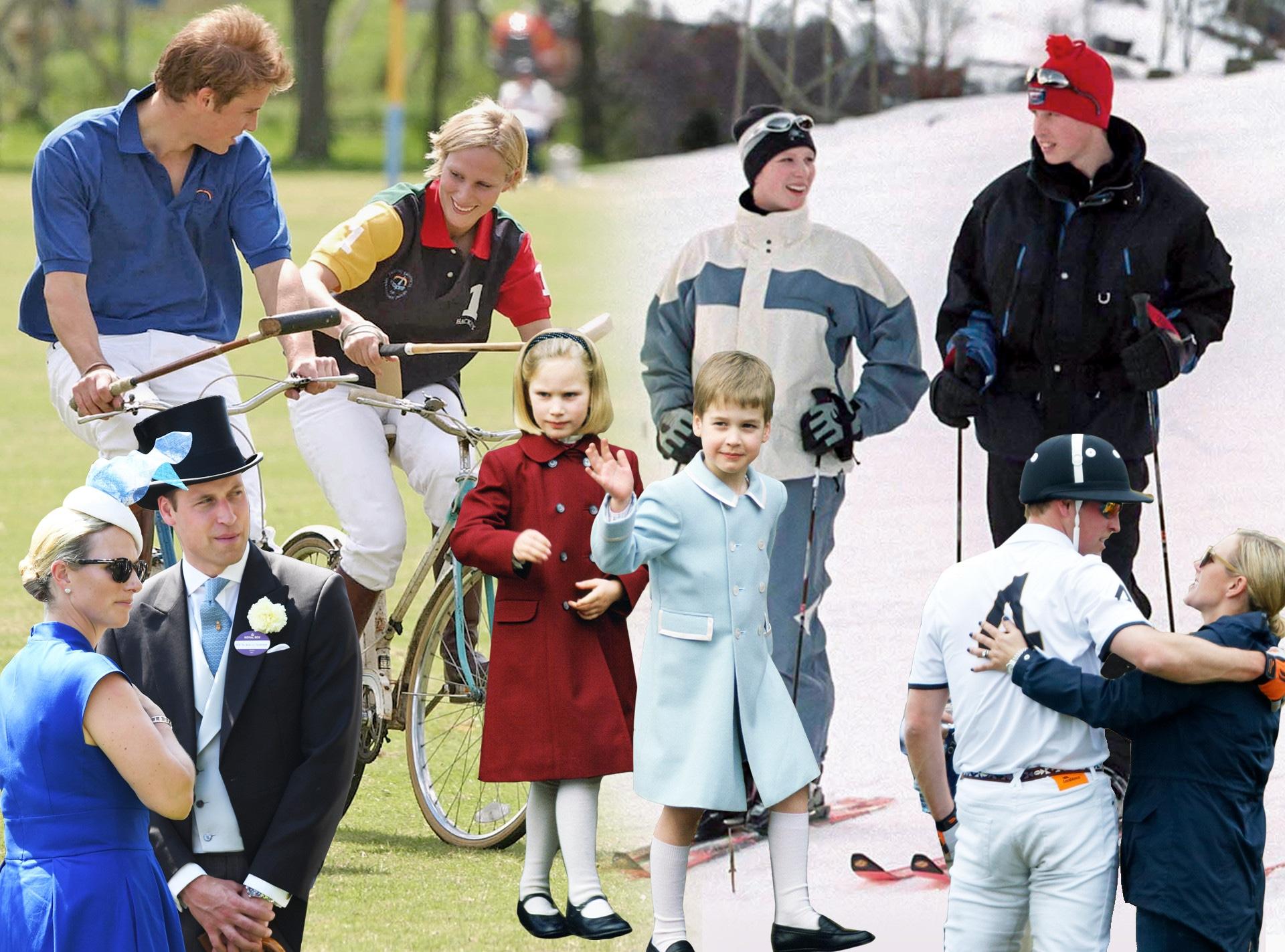 Prince William, Zara Tindall, Friendship Feature