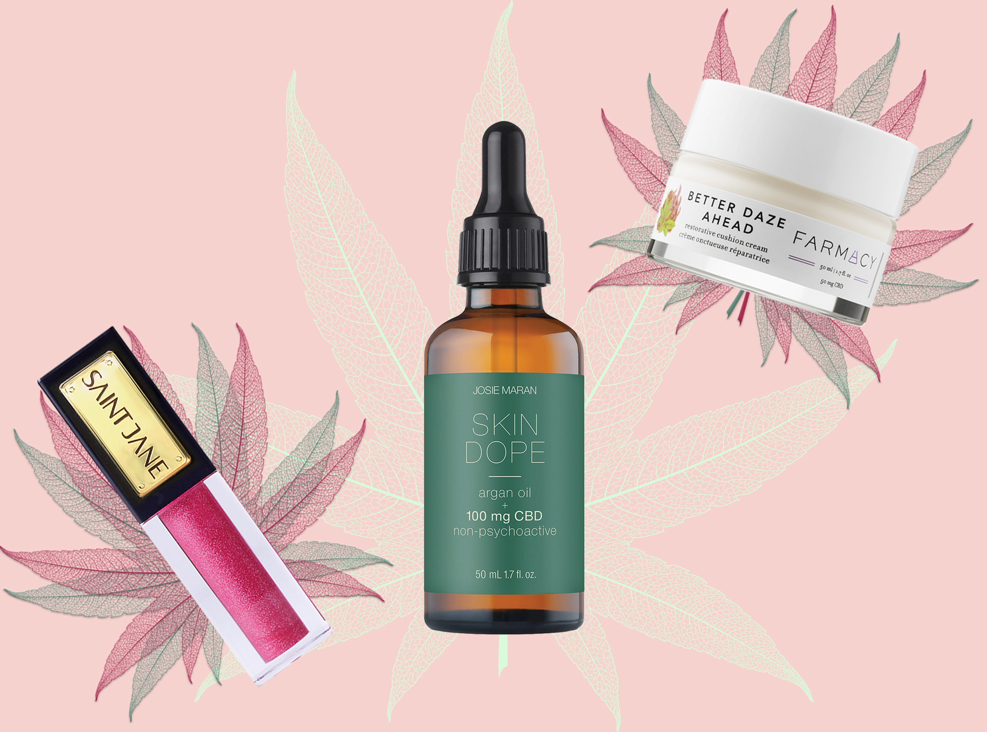 CBD Oil E-Comm: CBD Beauty Products