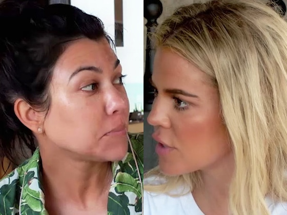 Find Out Why Khloe Kardashian Wants to &quot;Slap&quot; Kourtney &quot;in Her F--king Mouth&quot; on <i>KUWTK</i>
