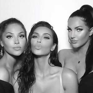Kim Kardashian, Natalie Halcro, Olivia Pierson