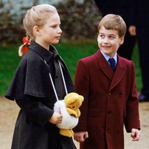Prince William, Zara Tindall, Christmas 1988