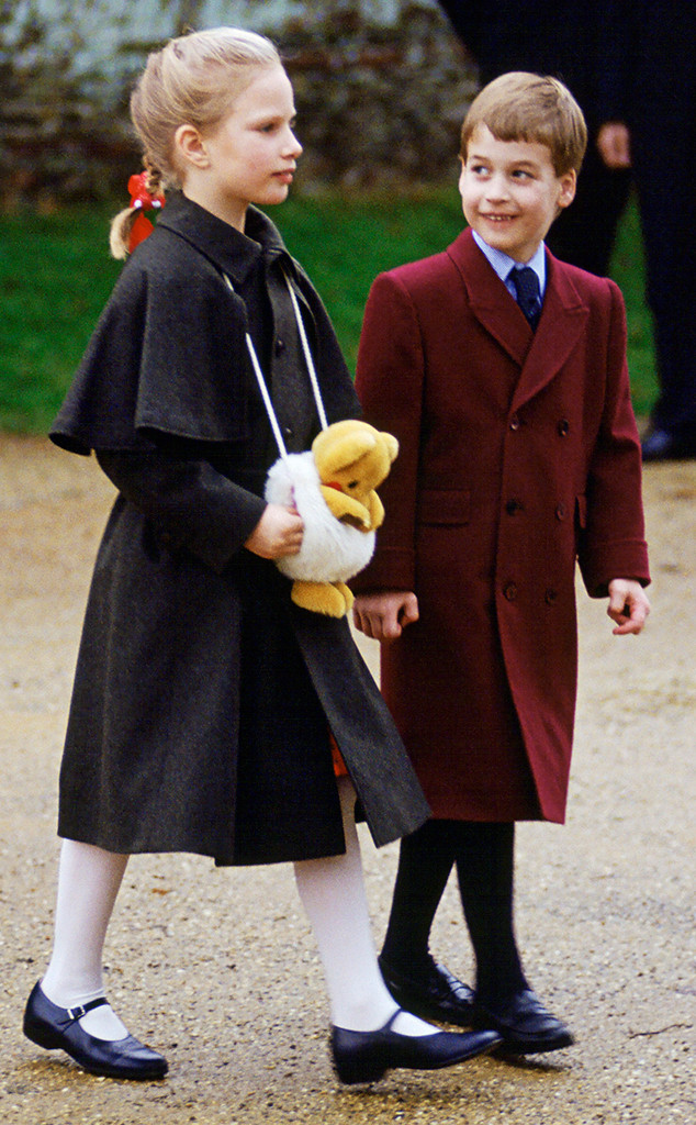 Prince William, Zara Tindall, Christmas 1988