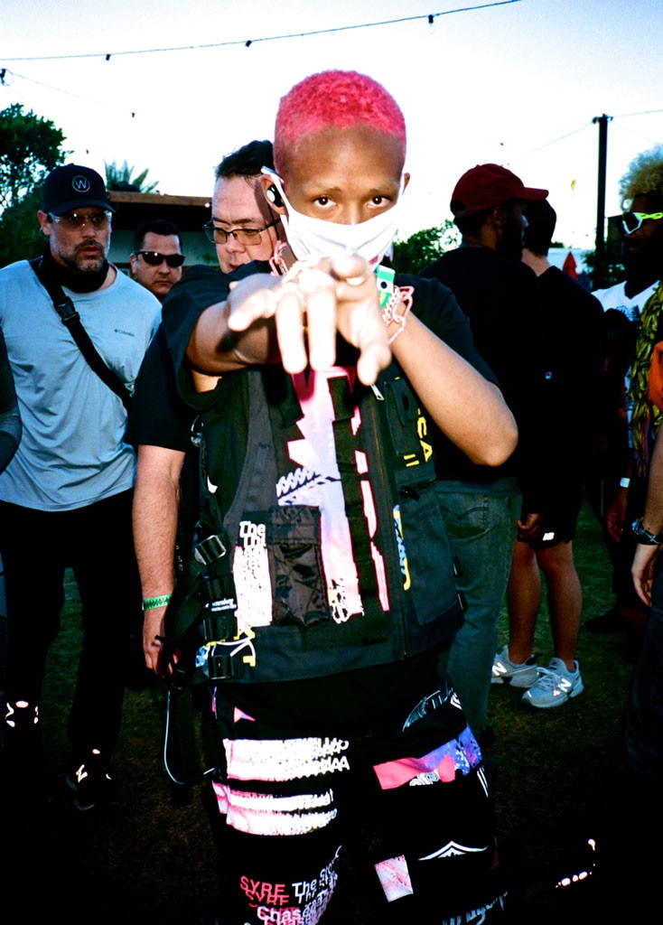 Jaden Smith -  The performer wowed the crowd when he took the stage at Coachella over the weekend.