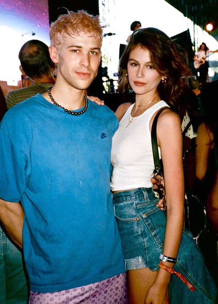 Tommy Dorfman & Kaia Gerber -  The  13 Reasons Why  actor and the model are spotted enjoying the music during the festival.