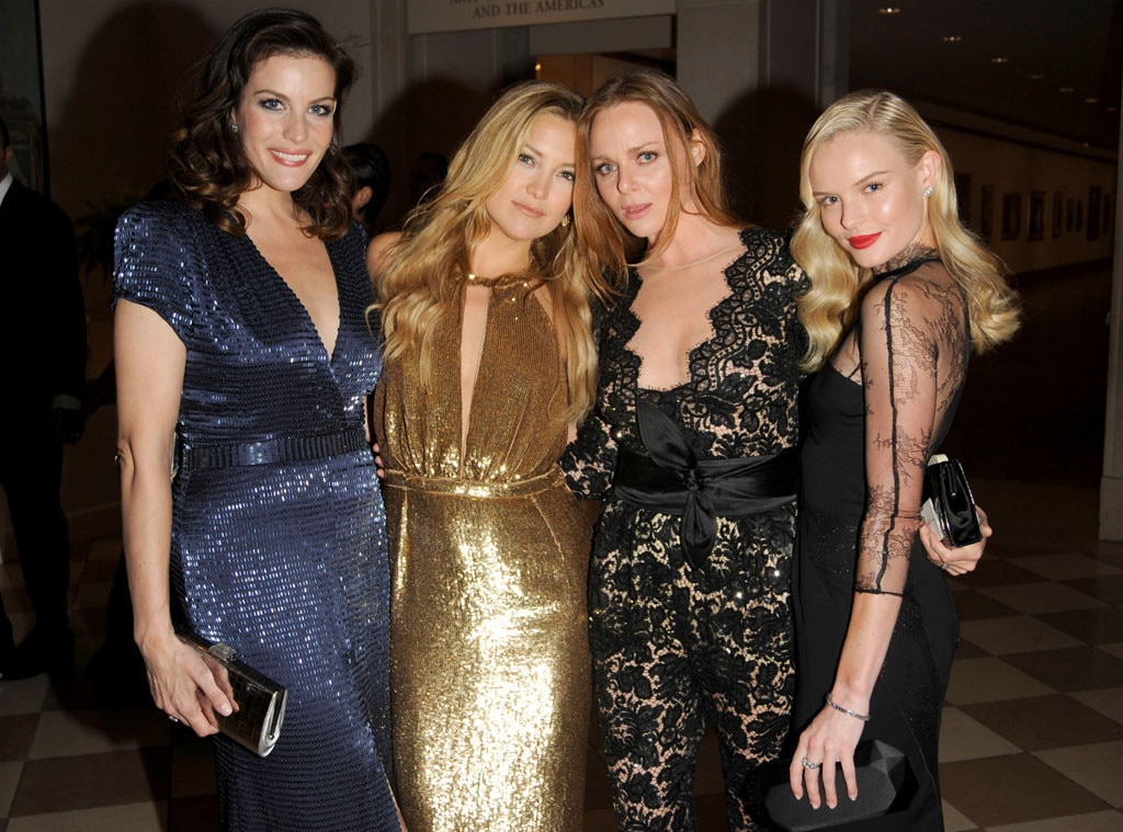 Liv Tyler, Kate Hudson, Stella McCartney & Kate Bosworth -  Laughs and fashion tips were definitely shared between this fierce foursome at the elite event.