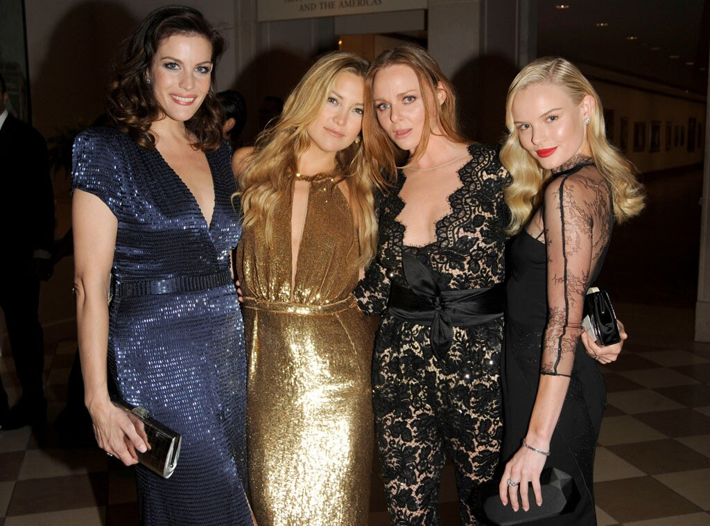 Liv Tyler, Kate Hudson, Stella McCartney, Kate Bosworth, 2009 MET Gala