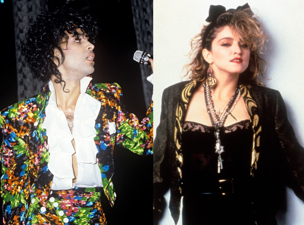 "Like a Prayer -  It's no secret that Prince appears on  Madonna 's fourth studio album—he did co-write and perform on the track ""Love Song"" with her after all—but his skills as a musician are featured elsewhere on the album, as well. Namely, on its iconic title track."