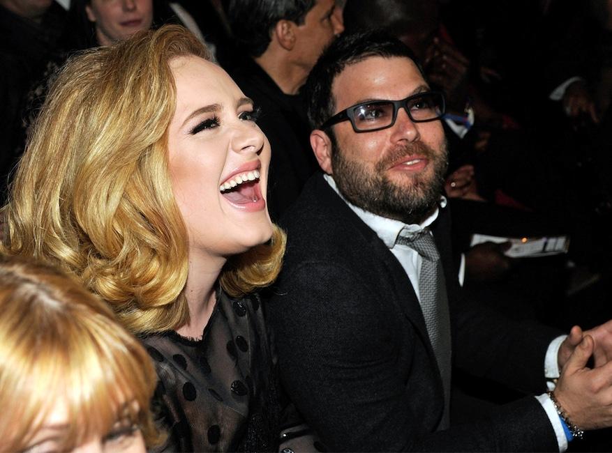 Adele, Simon Konecki, 2012 Grammy's
