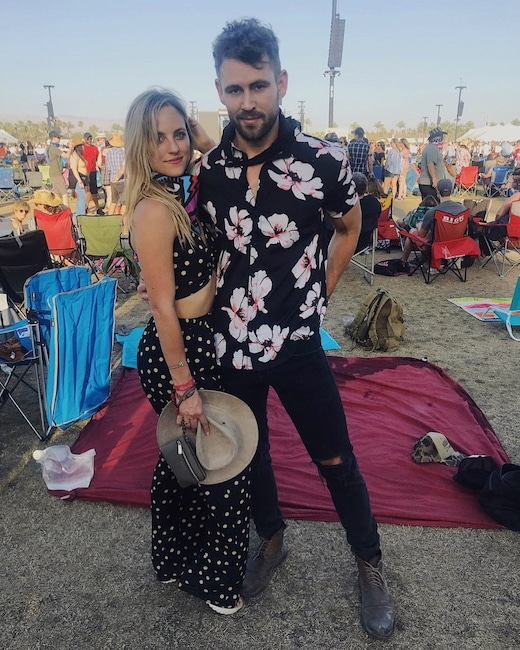 Nick Viall, Kendall Long, Stagecoach 2018