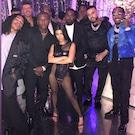 L'anniversaire aux invités prestigieux de Kourtney Kardashian