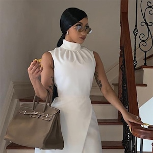 Cardi B, Court Outfit, Instagram