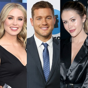 Colton Underwood, Cassie Randolph and Caelynn Miller-Keyes