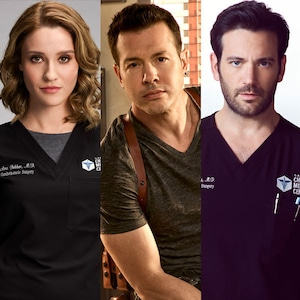 John Seda, Colin Donnell, Norma Kuhling, Chicago Med, Chicago PD