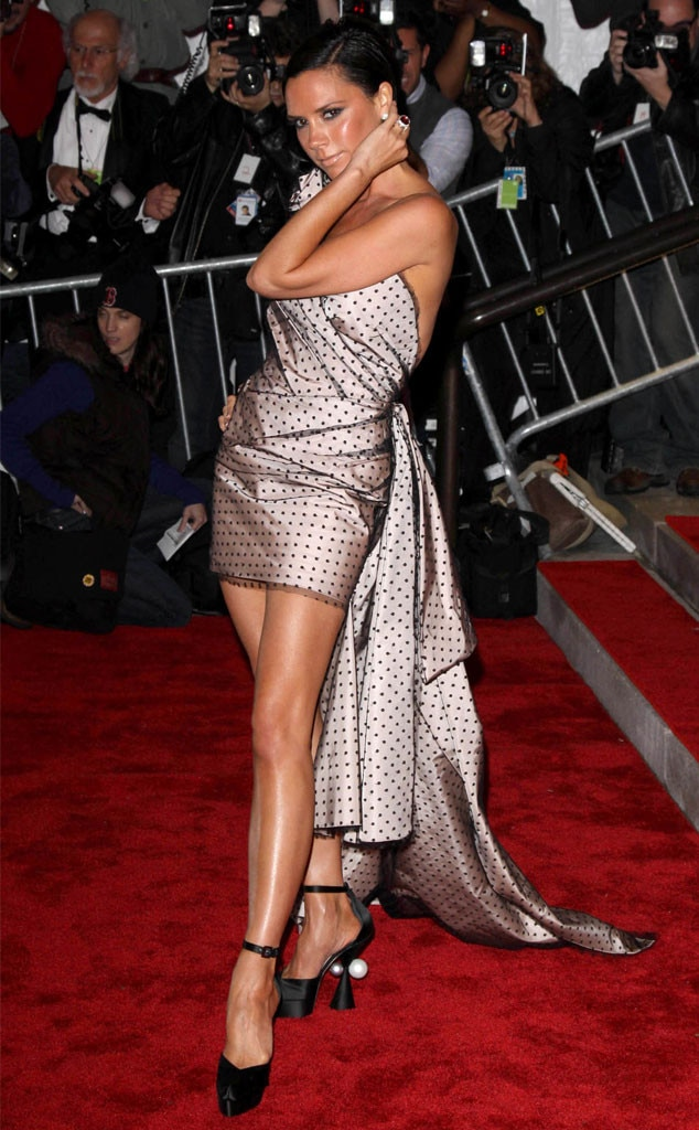 Victoria Beckham, 2009 MET Gala
