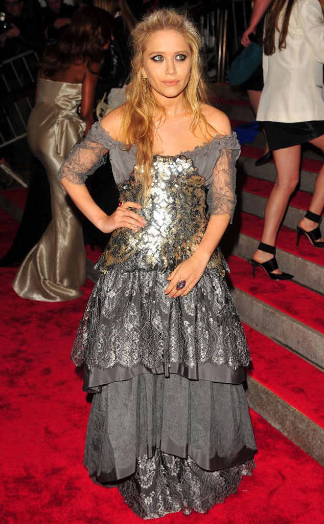 Mary-Kate Olsen -  As always, Mary-Kate proved that vintage fashion reigns supreme.