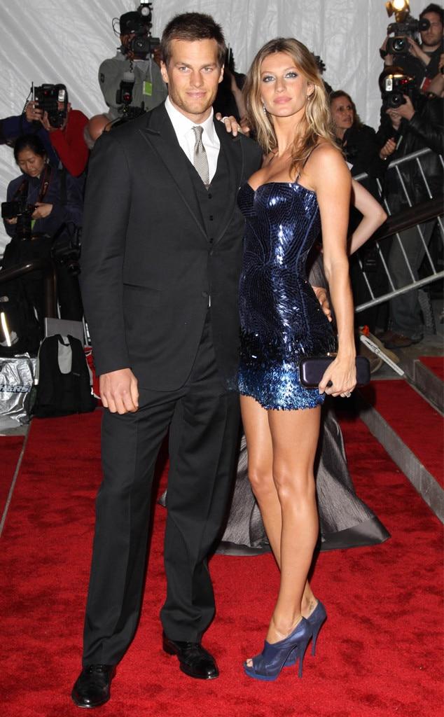Tom Brady, Gisele Bundchen, 2009 MET Gala