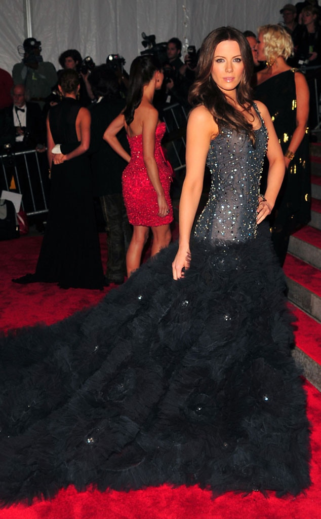 Kate Beckinsale -  It was a serendipitous occasion for the Underworld star, who wore a Marchesa gown.