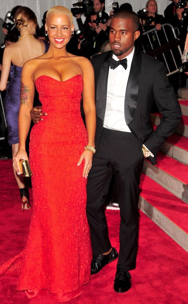 Amber Rose, Kanye West, 2009 MET Gala