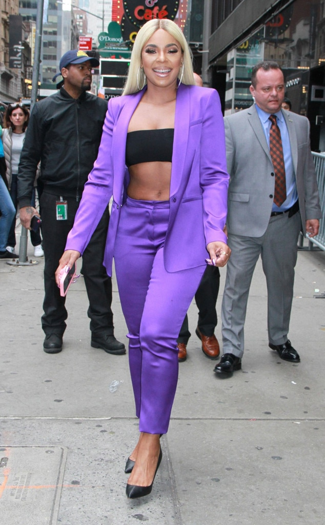 Ashanti -  Purple pizzazz!