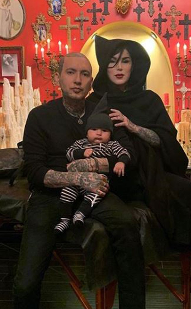 """Kat Von D -  The tattoo artist and makeup mogul became a mom in late 2018, announcing her son's arrival on Dec. 2, 2018. """"Meet our beautiful baby boy, Leafar Von D Reyes.Thank you to all our beloved friends+family, fans+followers for your patience in us announcing his long awaited arrival!"""" she  wrote on Instagram  at the time."""