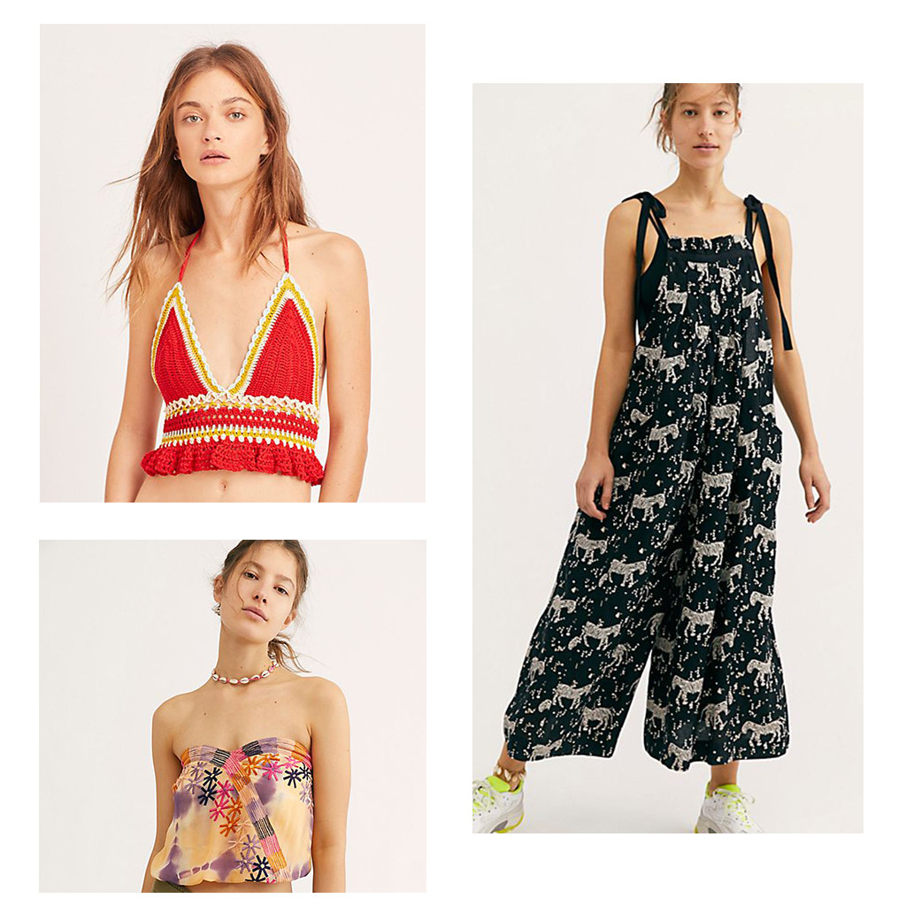 E-Comm: Stores for Festival Season, Free People