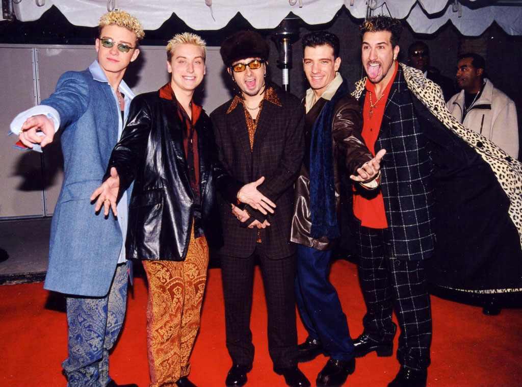 Justin Timberlake, Lance Bass, Chris Kirkpatrick, JC Chasez, Joey Fatone, NSync, 1998
