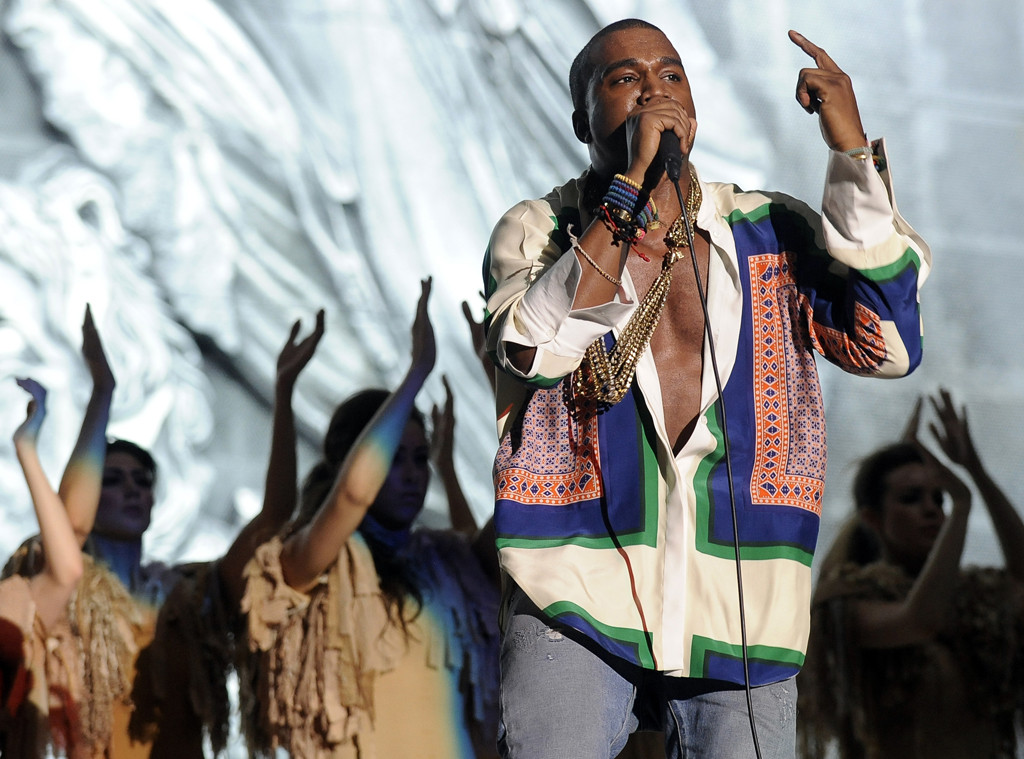 Coachella performance, Kanye West