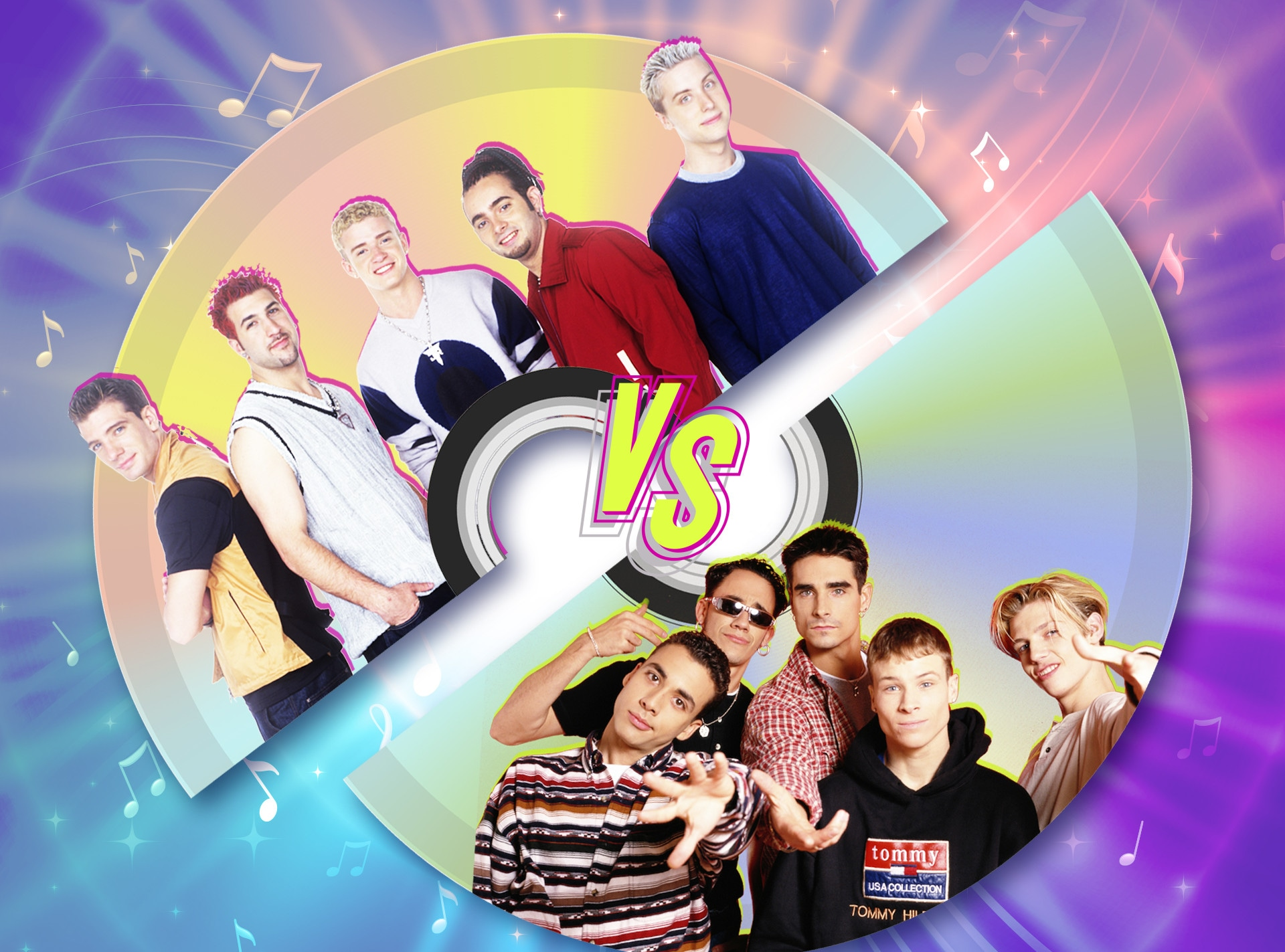 'N Sync vs Backstreet Boys, Feature