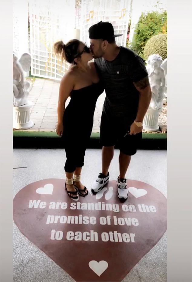 Jen Harley, Ronnie Ortiz-Magro, Las Vegas Wedding