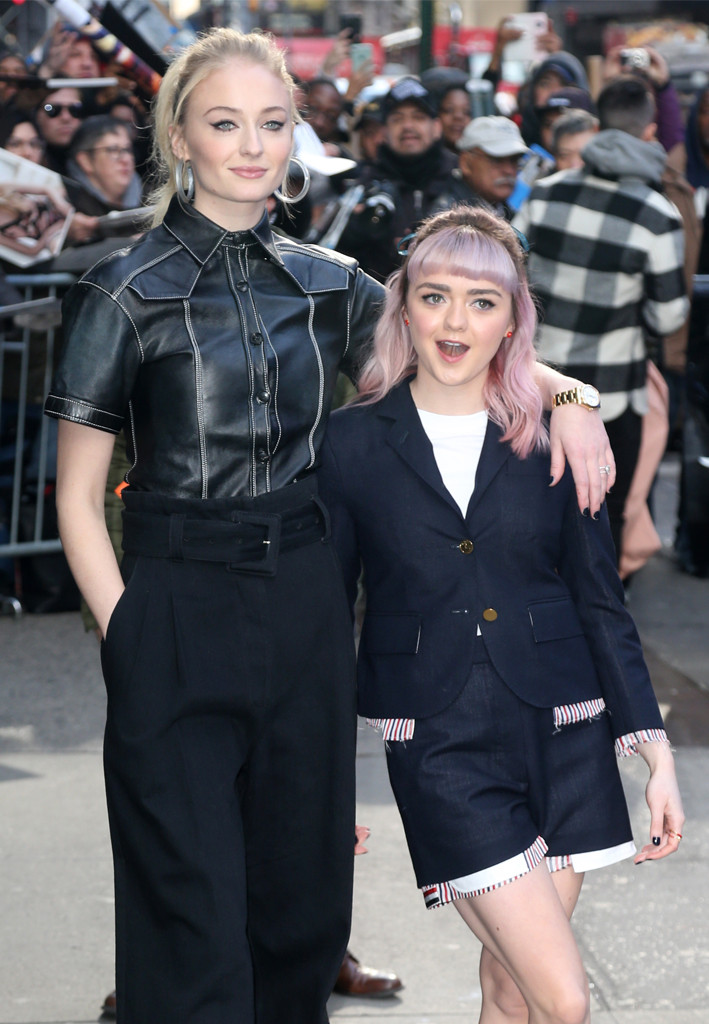 Let Sophie Turner And Maisie Williams Friendship Get You