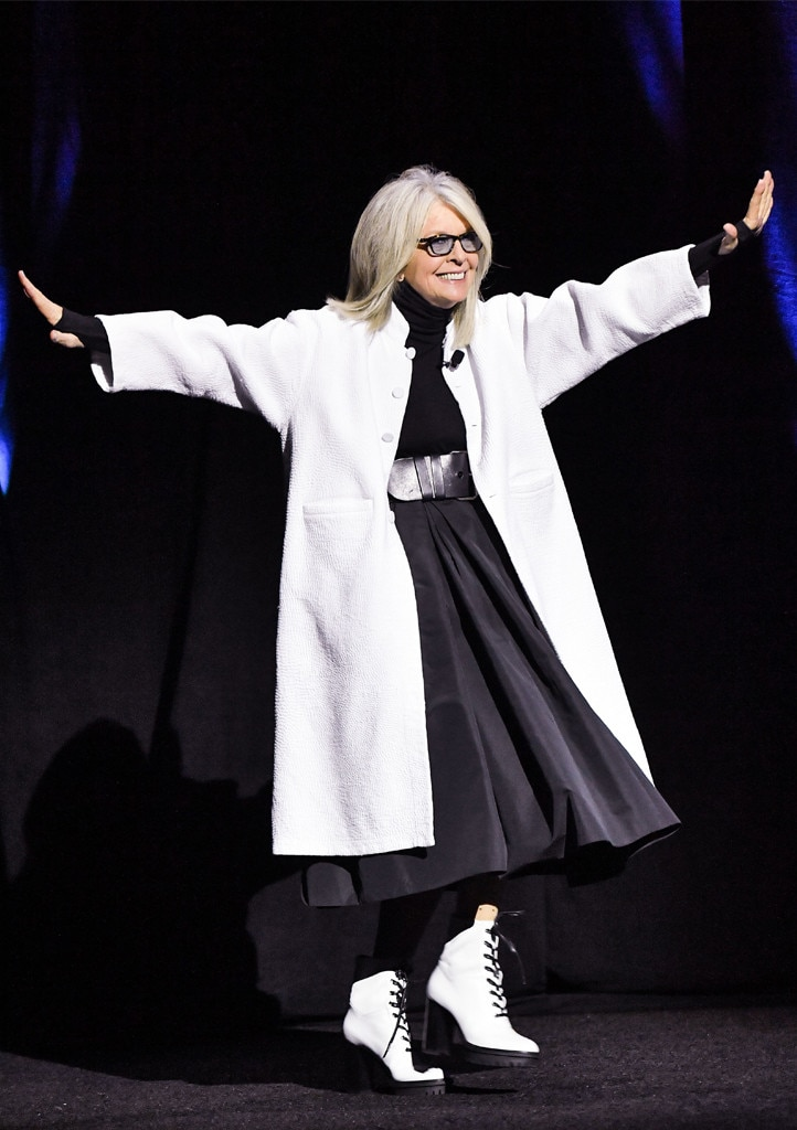 Diane Keaton -  Forever young!
