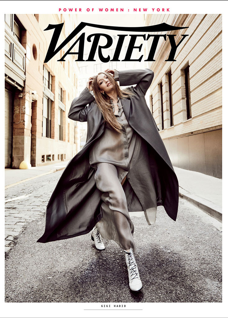 Gigi Hadid, Variety, Cover