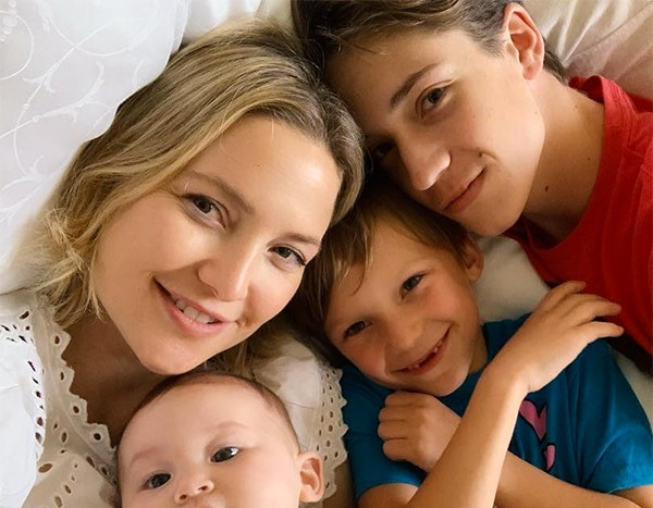 Kate Hudson Celebrates 40th Birthday With Her 3 Kids and a ...