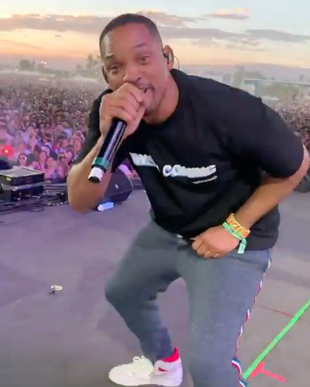 Will Smith Joins Jaden Smith Onstage at Coachella for Surprise Performance