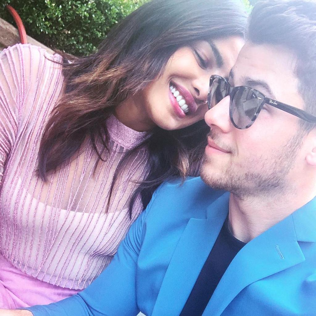 Nick Jonas, Priyanka Chopra, Easter
