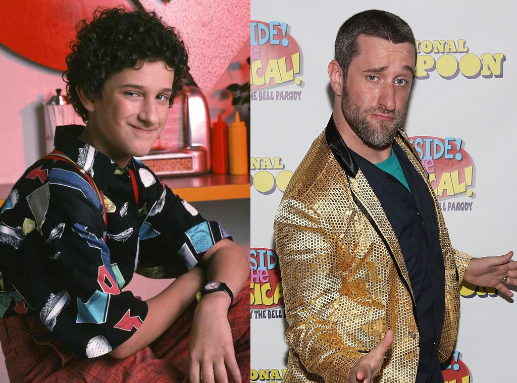 Dustin Diamond -  Oh, how you've changed, Screech! The butt of every joke and the gang's resident nerd, Diamond later went on to star on  Saved By the Bell: The New Class , with Screech becoming Mr. Belding's assistant.