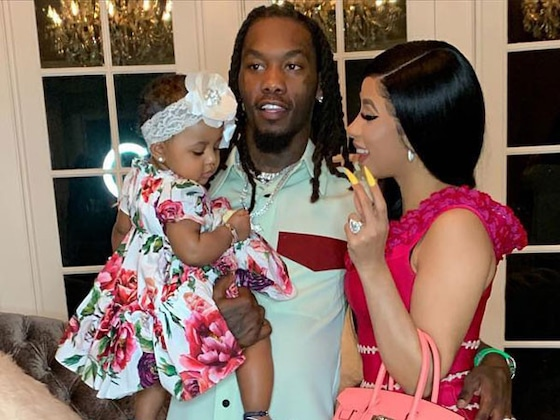 "Cardi B and Offset's Daughter Saying ""Dada"" Will Make Your Day"
