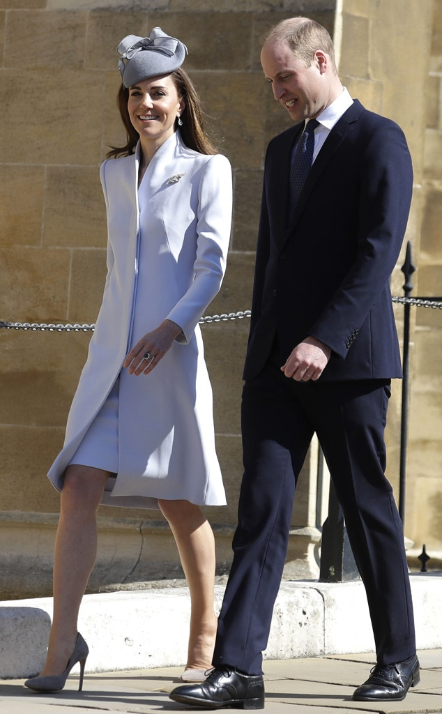 Kate Middleton, Prince William, Easter Sunday Service
