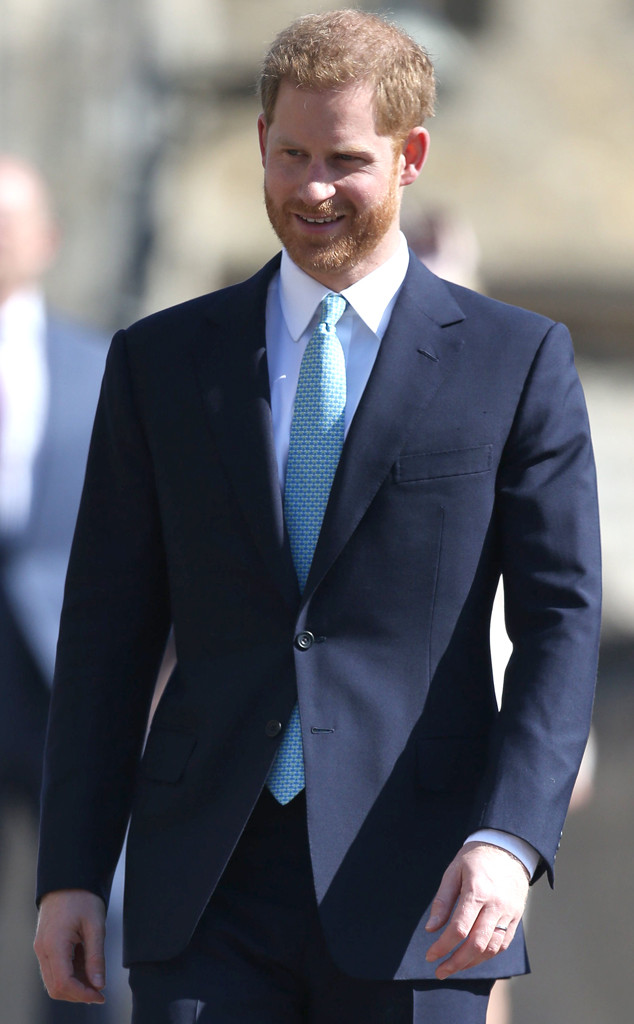 Prince Harry, Easter Sunday Service