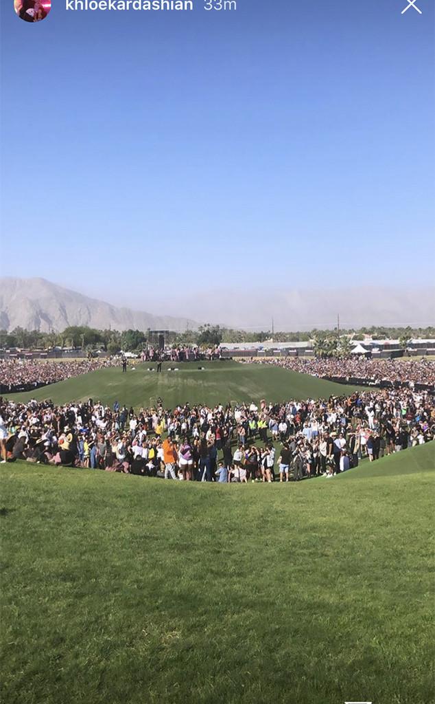 Khloe Kardashian, Kanye West, Sunday Service, Coachella