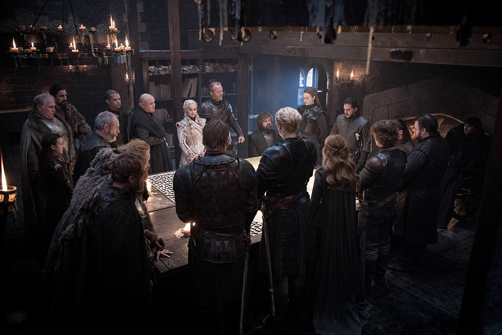 Game of Thrones, Episode, Daenerys, Jon, Sansa, Tyrion, Jorah