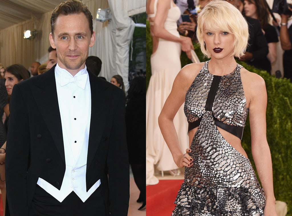 Hiddleswift Is Born -  Swifties can trace Taylor Swift  and Tom Hiddleston 's romance back to the 2016 Met Gala, where attendees caught the pair getting their groove on. Less than a month later, the pop star and Calvin Harris would go their separate ways and she'd move on with the British actor... at least for a few more months.