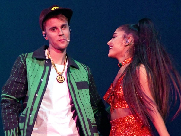 Justin Bieber Joins Ariana Grande Onstage at Coachella for Surprise Performance