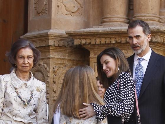 Las reinas Sofía y Letizia volvieron al lugar donde pelearon hace un año ¿Cómo fue esta vez?