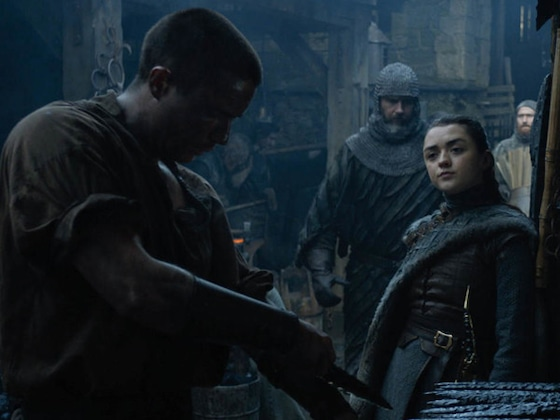 Maisie Williams Thought <i>Game of Thrones</i>' Arya Stark and Gendry Scene Was a Prank